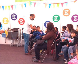 Preguntando a los niños FIL Lima