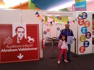 Sala Abraham Valdelomar en la FIL Lima