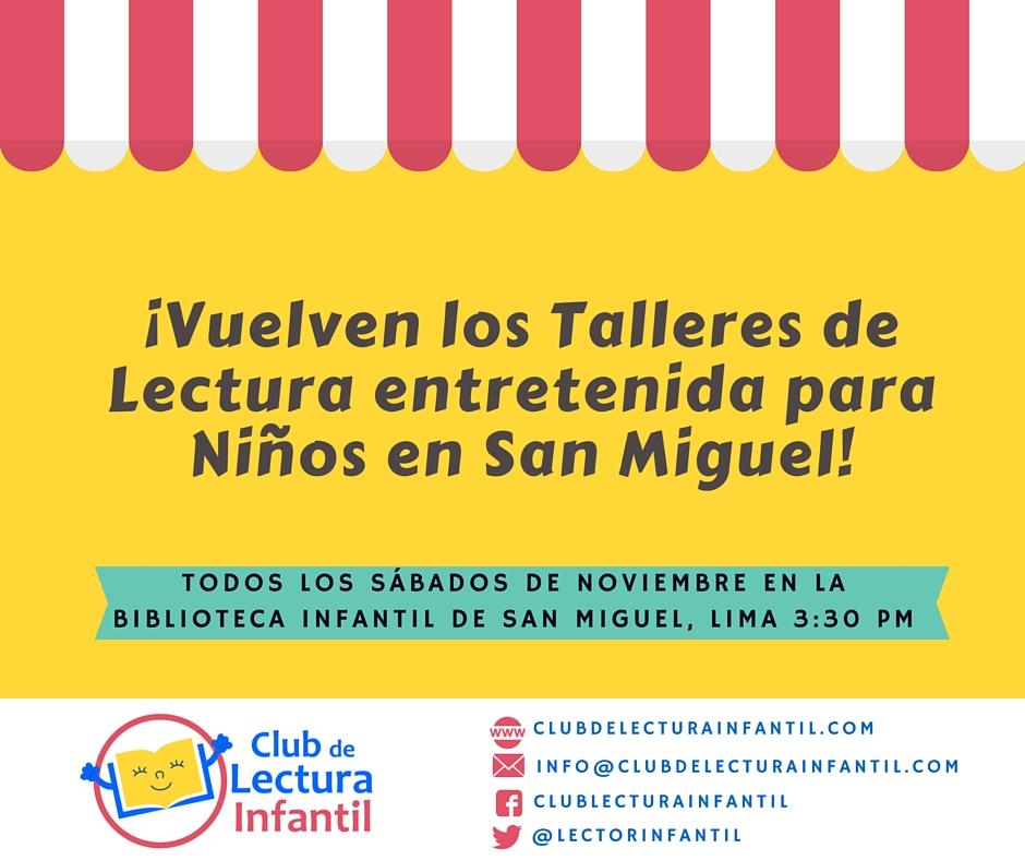 Biblioteca Infantil de San Miguel noviembre 2015